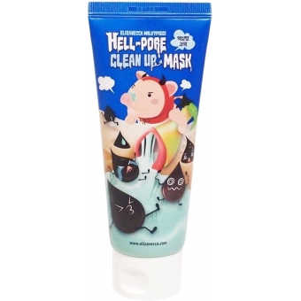 Угольная маска-пленка Elizavecca Milky Piggy Hell-Pore Clean Up Mask