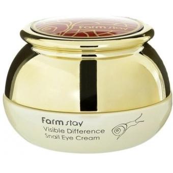 Крем для глаз с улиткой FarmStay Visible Difference Snail Eye Cream