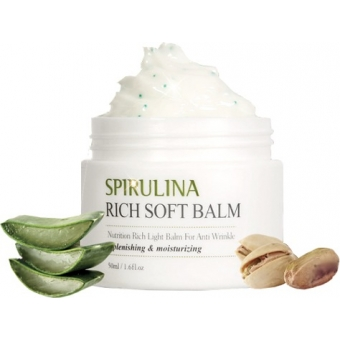 Крем-бальзам со спирулиной The Skin House Spirulina Rich Soft Balm Spirulina Rich Soft Balm