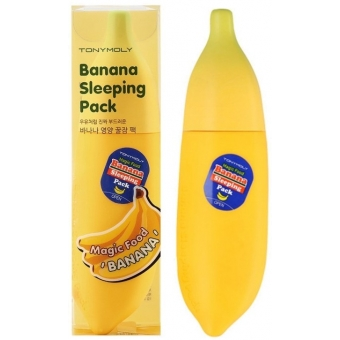 Банановая ночная маска для лица Tony Moly Magic Food Banana Sleeping Pack