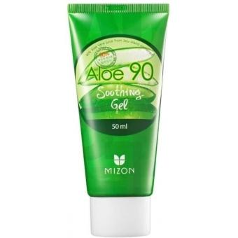Гель крем с 90% содержание сока алоэ Вера Mizon Aloe 90 Soothing Gel
