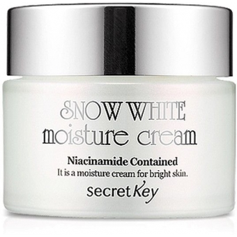 Отбеливающий и увлажняющий крем для лица Secret Key Snow White  Moisture Cream