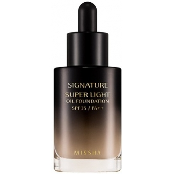 Тональный крем Missha Signatue Super Light Oil Foudation