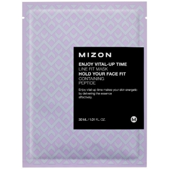 Маска тканевая Mizon Enjoy Vital-Up Time Line Fit Mask