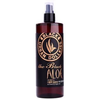 Гелевый мист для лица с экстрактом алоэ Baviphat Urban DollKiss The Black Aloe Soothing Gel Mist