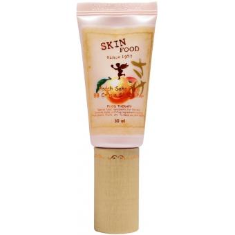 ББ крем с экстрактом персика Skinfood Peach Sake Pore BB Cream SPF20/PA+