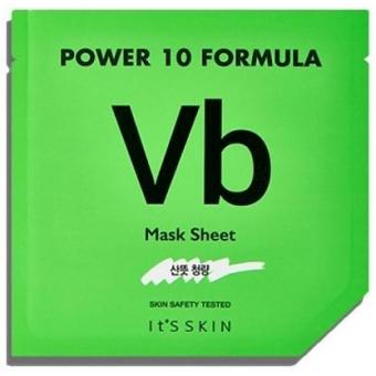 Маска по контролю себума с витамином В6 It's Skin Power 10 Formula Vb Mask Sheet