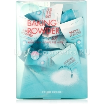 Скраб в пакетиках Etude House Baking Powder Crunch Pore Scrub
