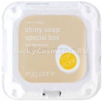 Мыло для лица Tony Moly Egg Pore Shiny Skin Soap Special Box
