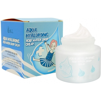Увлажняющий осветляющий крем для лица Elizavecca Aqua Hyaluronic Acid Water Drop Cream