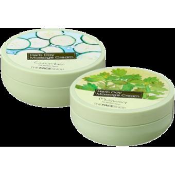 Крем для демакияжа The Face Shop Herb Day Cleansing Cream