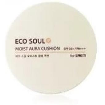Увлажняющий кушон The Saem Eco Soul Moist Aura Cushion SPF50 /PA