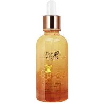 Сыворотка с прополисом и медом The Yeon Jeju Canola Honey Ampoule Propolis