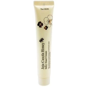 Крем для рук с рапсовым медом The Yeon Jeju Canola Honey Silky Hand Cream