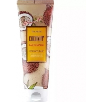 Скраб для тела с маслом кокоса The Yeon Coconut Body Scrub Wash Intensive Care