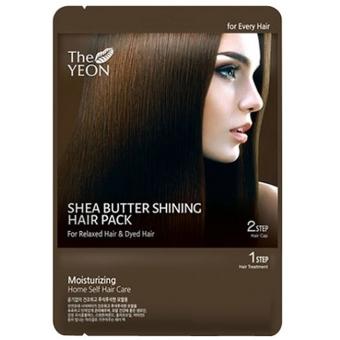 Маска для сияния волос с маслом Ши The Yeon Shea butter shining hair pack