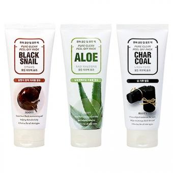 Очищающая маска-плёнка Jigott Pure Clean Peel Off Pack