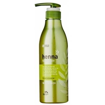 Питательная маска с хной и керамидами Flor de Man Henna Hair Treatment Hair Pack