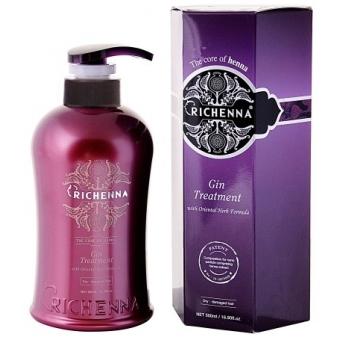 Уход для волос с можжевельником Richenna Gin Treatment