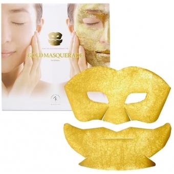 Маска для лица Hakuichi Kinka Gold Masquerade Mask