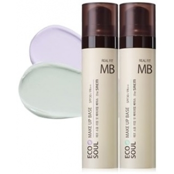 Основа под макияж The Saem Eco Soul Real Fit Make Up Base
