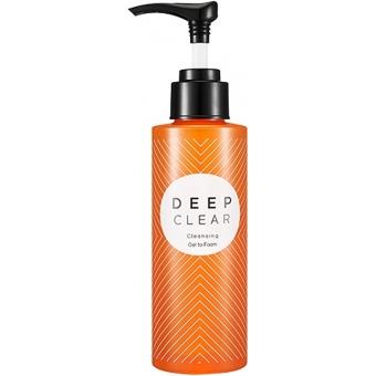Гидрофильное масло для лица Missha Deep Clear Cleansing Oil