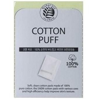 Спонжи косметические из 100% хлопка The Saem Cotton Puff