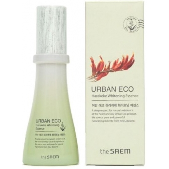 Отбеливающая эссенция с новозеландским льном The Saem Urban Eco Harakeke Whitening Essence