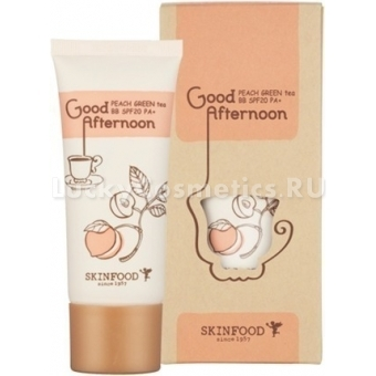 ББ крем с экстрактом персика и зеленого чая Skinfood Good Afternoon Peach Green Tea BB SPF20/PA+