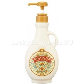 Шампунь для волос с аргановым маслом Skinfood Argan Oil Silk Hair Shampoo 400g