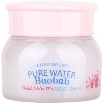 Увлажняющий крем с экстрактом баобаба Etude House Pure Water Baobab Moist Cream