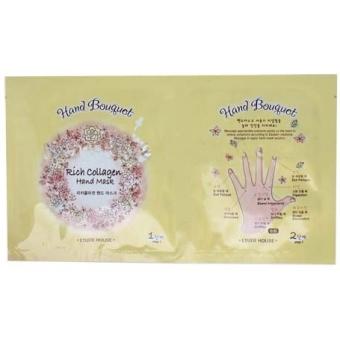 Маска-перчатки для рук с коллагеном Etude House Hand Bouquet Rich Collagen Hand Mask