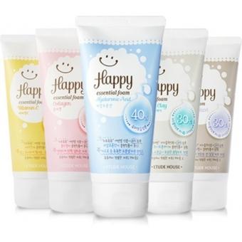 Пенка для умывания Etude House Happy Essential Cleansing Foam