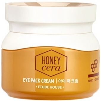 Маска-крем для век с медом Etude House Honey Cera Eye Pack Cream