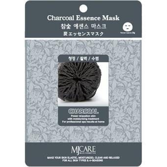 Листовая маска с древесным углем Mijin Cosmetics Charcoal Essence Mask