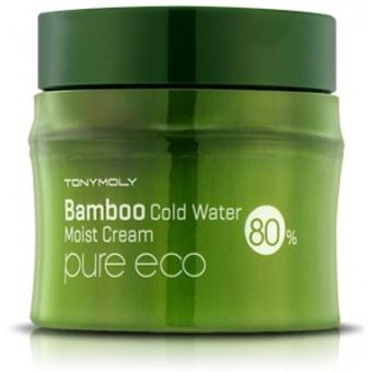 Увлажняющий крем с экстрактом бамбука Tony Moly Pure Eco Bamboo Icy Water Moisture Cream