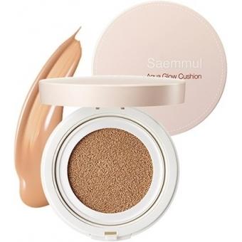 Кушон с эффектом сияния The Saem Saemmul Aqua Glow Cushion SPF50  PA