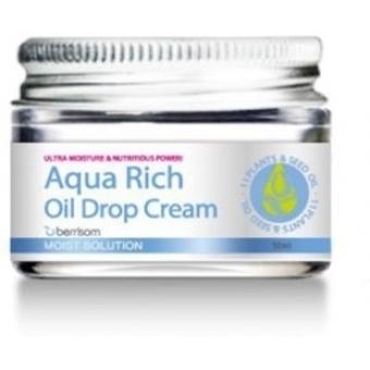 Крем-масло ультраувлажняющий Berrisom Aqua Rich Oil Drop Cream