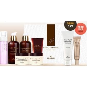 Антивозрастные средства в подарочном наборе The Skin House Special Wrinkle Premium 8 Set Cream