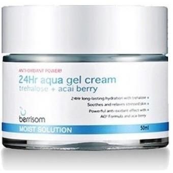 Гель-крем увлажняющий Berrisom 24hr aqua gel cream