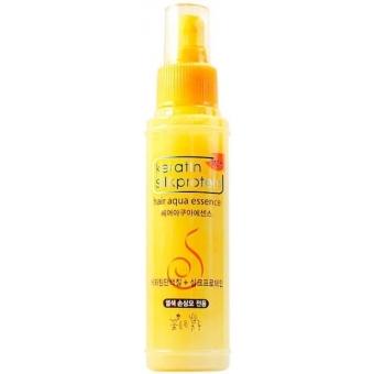 Увлажняющая эссенция для волос с кератином Flor de Man Keratin Silkprotein Hair Aqua Essence