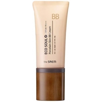 BB-крем The Saem Eco Soul Porcelain Skin BB Cream
