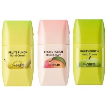 Крем для рук фруктовый пунш The Saem Fruits Punch Hand Cream