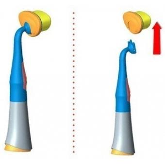 Сменная щетка к прибору The Saem Gem Miracle Auto Pore Cleanser (refill head brush)