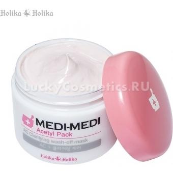 Маска для борьбы с акне Holika Holika Medical Recipe Acetil Mask Pack