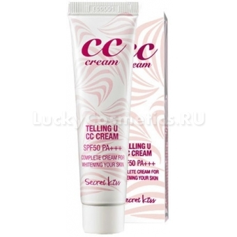 Легкий СС-крем Secret Key Telling U CC Cream SPF 50 PA    30мл
