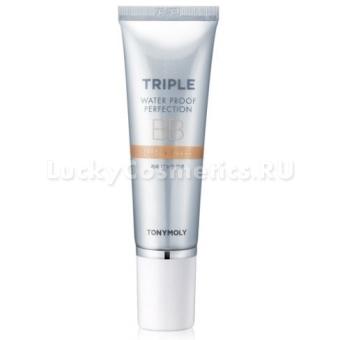 BB крем водостойкий Tony Moly Triple Waterproof Perfection BB Cream SPF50+