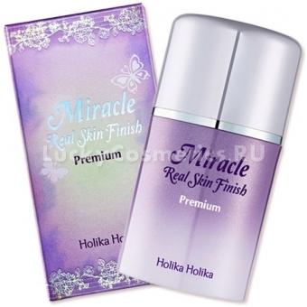 Мультифункциональный крем для лица  Holika Holika Miracle Real Skin Finish - Premium SPF35 PA++