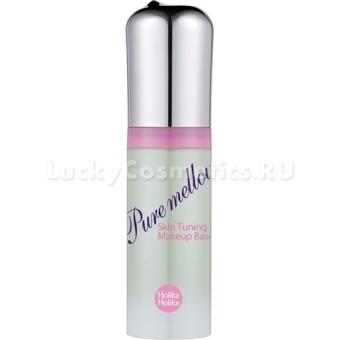 База под макияж (мятный оттенок) Holika Holika Pure Mellow Makeup Base 02 SPF25/PA++