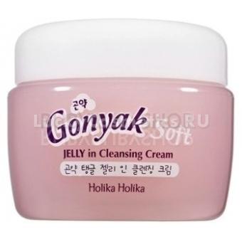 Крем для умывания с экстрактом конняку Holika Holika Gonyak Soft Jelly In Cleansing Cream